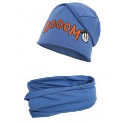 Komplet komin i czapka boom.