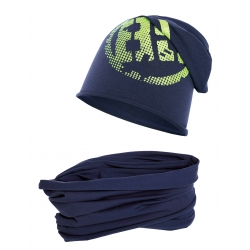 Komplet czapka i komin 89