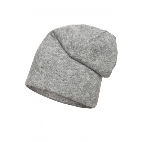 Czapka podwójna dzianina swetrowa gladka bez ozdób.