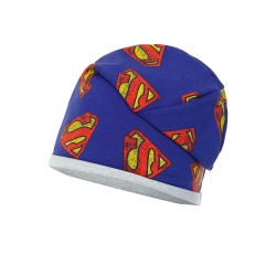 Czapka superman.